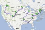 Drive Through All 48 Contiguous States in 113 Hours