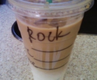 Today's Starbucks Alter Ego: 'Rock' and 'Rose'