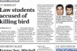 Law Students Arrest for Bird Beheading
