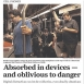 San Francisco Train Riders Too Busy with Phones to Notice Shooting