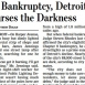 Detroit Bankruptcy Woes at Street Level
