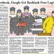 Google & Facebook Get Backlash Over Logins