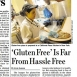 Restaurants Struggle with Gluten-Free Requests