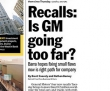 Is GM Going Too Far With Recalls?