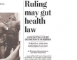 Contradictory Rulings on Health Care Law