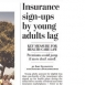 Young Adults Slow to Sign Up for Health Insurance