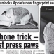 Pawprints Can Unlock New iPhone