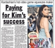 Kim Kardashian Could Earn $60 Million from Video Game