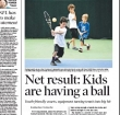 Smaller Tennis Courts a Hit With Kids & Older Folks