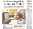 Kids Getting Into Computer Coding