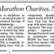 Marathon Charities Running on Empty