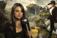 VIDEO: Mila Kunis Helps Out Nervous Interviewer