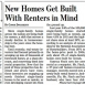 New Homes Built with Renters in Mind