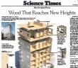 """Cross-Laminated Timber"" Takes Wood to New Heights"