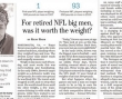 What Happens to NFL Big Men After Football?
