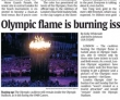 Olympic Flame a 'Burning Issue' for London Organizers
