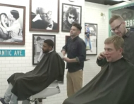Conversation and a Haircut at the GQ Barbershop