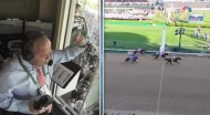 Down the Stretch: Track Announcer Larry Collmus