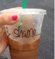 Starbucks Alter Ego: Shame
