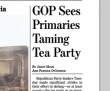 Has the GOP Tamed the Tea Party?