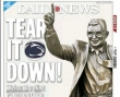 Op-Ed: Suspend Penn State Football; Tear Down Paterno Statue