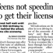 More Teens Waiting to Start Driving