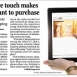 Study: Tablet Touches Influence Buying Decisions