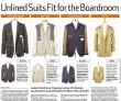 Keep Cool With an Unlined Suit