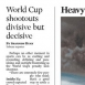 World Cup Penalty Shootouts Disliked, Yet Decisive
