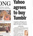 Yahoo Board Approves Tumblr Deal