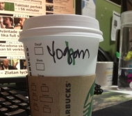 "Starbucks Alter Ego: ""Yogom"""