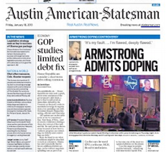 analysis on lance armstrong doping essay Lance armstrong's recent formal striping of his seven cycling titles is the most recent case of how we elevate the individuals that surpass the challenges that are beyond the reach of the ordinary, however with certain implied conditions (macur.