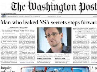 L'identité de Edward Snowden est révélée