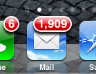 iphone mail icon