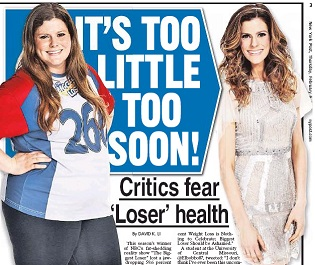 biggest loser essay Doomed to be the biggest losers but some papers do show that another study compared a group of gastric-bypass patients to biggest loser contestants and found.
