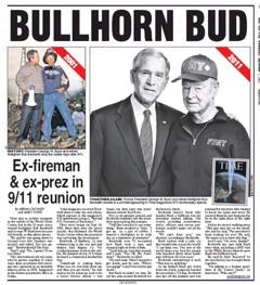 Photo Bush Reunited With Bullhorn Bud Pat S Picks