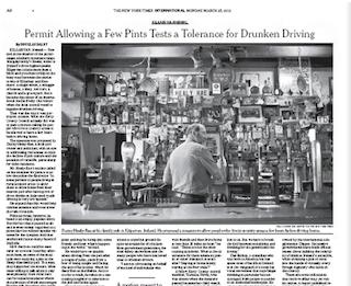 Binge drinking is 'the norm' in Ireland