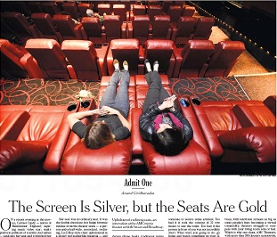 AMC Theaters is outfitting its theaters with plush new reclining seats. The New York Times says the chain is trying to lure customers in an era where tens ... & Theater Chain Gambles on Cushy Reclining Seats | Patu0027s Picks islam-shia.org