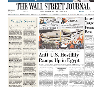 wall street journal term paper The wall street journal editorial board just went off on  wall street journal,  will somehow be different because the paper's editorial board wrote that.