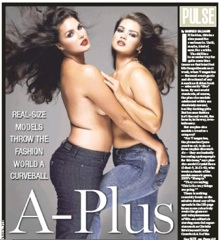 d12e1aa93 The size issue of V magazine is about to hit news stands. And the focus is  on plus size models. The New York Post says the women featured are actually  quite ...