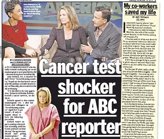 Amy Robach: On-Air Cancer Test Saved My Life