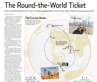 round the world flights