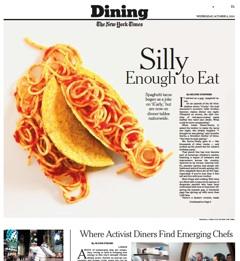 Dish Du Jour Spaghetti Tacos Pat S Picks