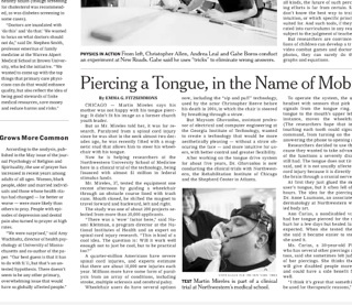 """tongue piercing essay According to the article mouth jewelry, oral piercings and your health, """"there is a risk of oral infection associated with oral piercings due to the wound created, the vast amount of oral piercings 5 bacteria in the mouth, and the introduction of bacteria from handling the jewelry (mouth jewelry, oral piercings and your health, 2011) the tongue is."""